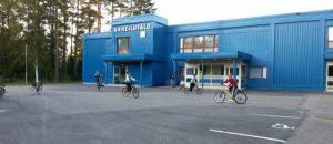 Kuvassa on Noormarkun nuorisotilan rakennus ulkoapäin.