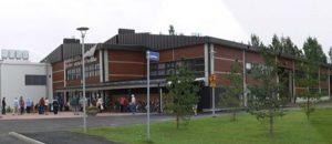 Kuvassa on Ulvilan Kaskelotin nuorisotilan rakennus ulkopäin.