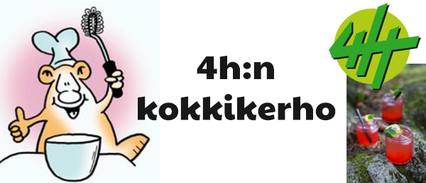 Kuvassa on 4h:n logo.