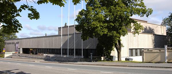 Kuvassa on Satakunnan museon rakennus ulkoa.