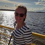 Kuvassa on Elina Heinilän kasvokuva.