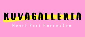 Kuvassa on Nuori Pori Harrastaa 2020 -tapahtuman mainoskuva. Kuva on koriste.