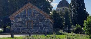 Kuvassa on kivinen Maatalousmuseon rakennus.