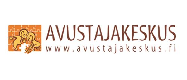 Kuvassa on Avustajakeskuksen logo.