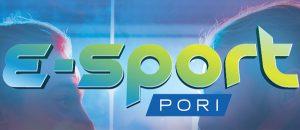"Kuvassa on teksti: ""E-sport Pori""."