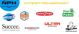Nuori Pori Harrastaa -tapahtuman yhteistyökumppanit